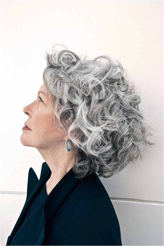 Marco Candela Michelus Curly Gray Hair Texture The secret to beautiful gray hair lies in its texture bine curly gray …