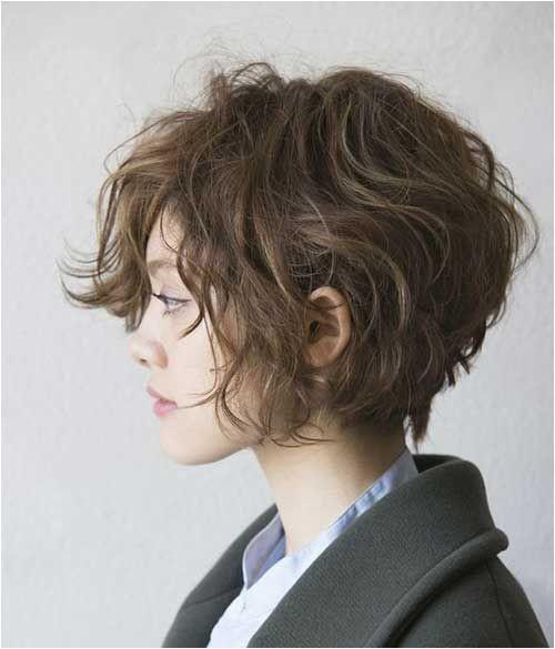 Short Haircut for Curly Wavy Hair
