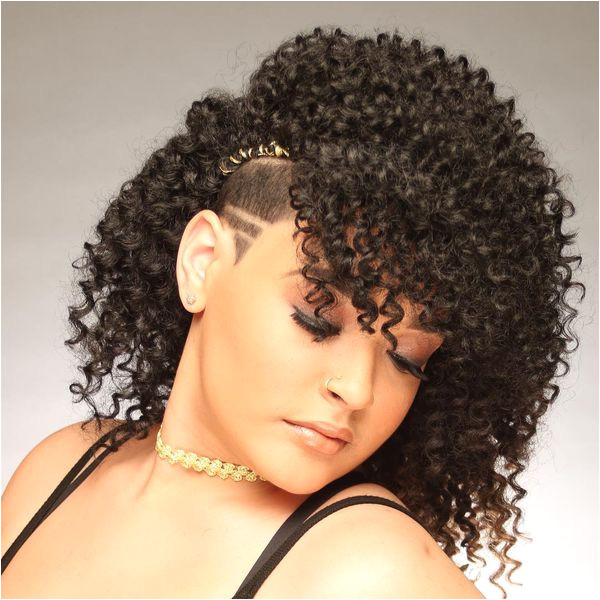 Different crochet braid styles for curly hair 1