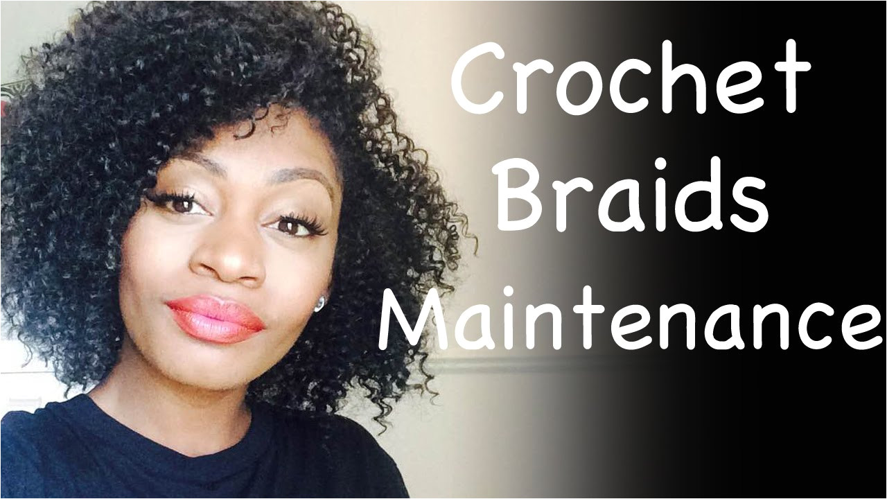 Crochet Braids Maintenance How To Take Care Curly Crochet Braids