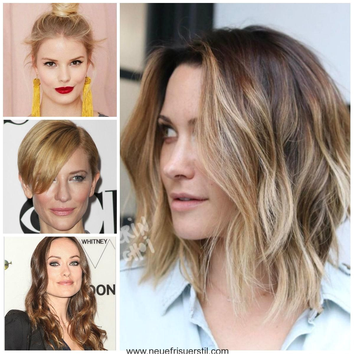 Hairstyles for women with square faces in 2018 Tagswomenhairstylesfacessquare
