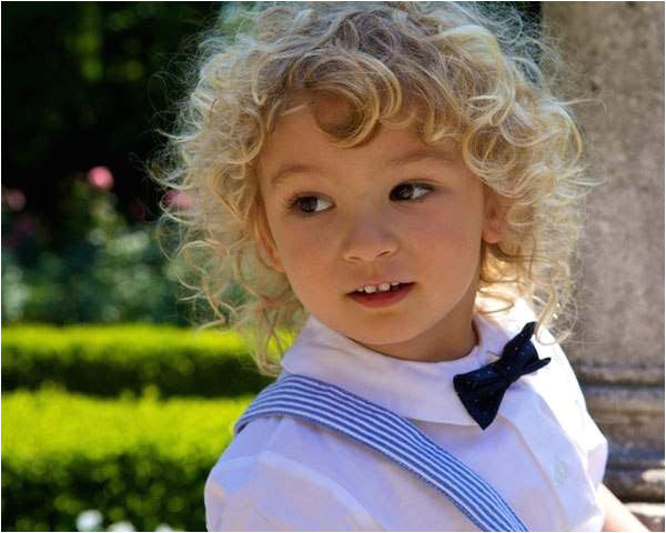 cool toddler boy haircut ideas Children hairstyle curly blonde boy hair
