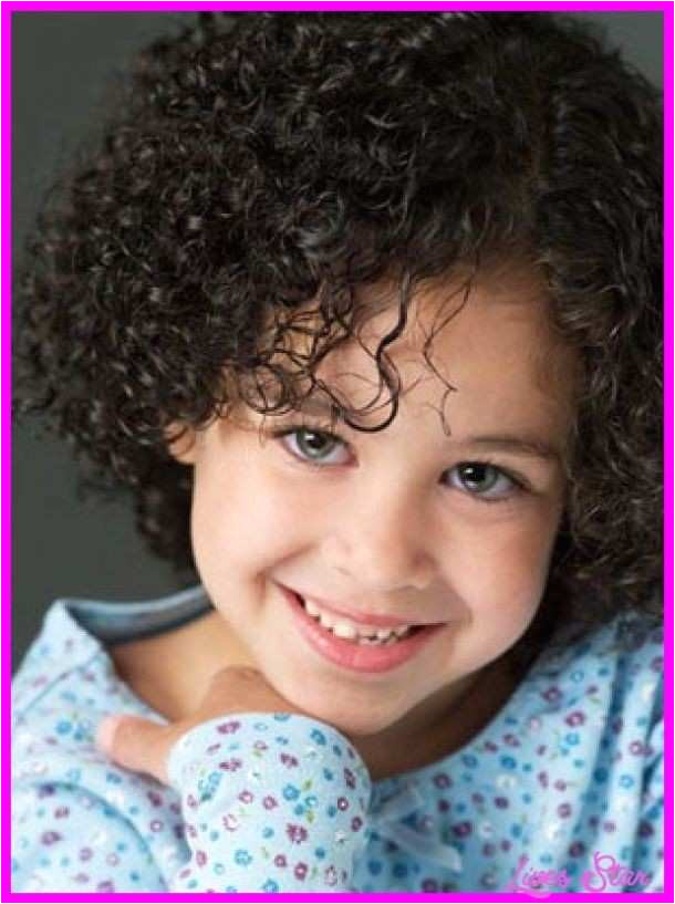Curly Hairstyles For Little Girls Awesome Nice Little Girl Curly Hairstyles Ideas For Hair Colours Pccheatz