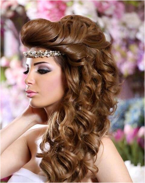 arabic bridal hairstyles