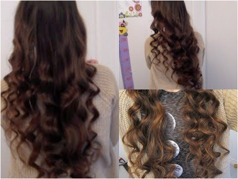 How to crazy big curly hair no heat