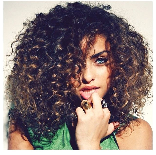 "For all girls and boys who are proud of natural curly hair and appreciate this lovely hairstyle ""Beautiful curls are the result of accepting your curls"