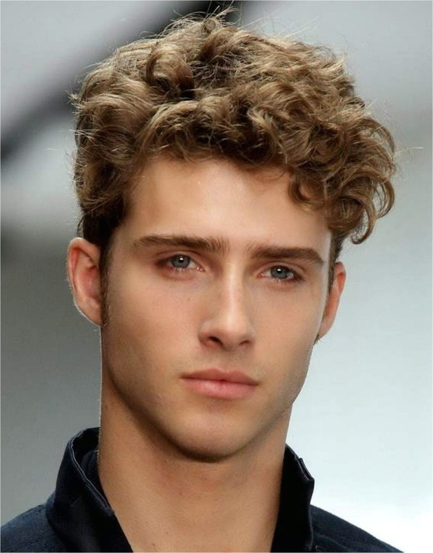 Short Haircuts for Men with Curly Hair