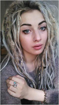 removing original caption because it was racist Blonde Dreads Girl Dreadlocks