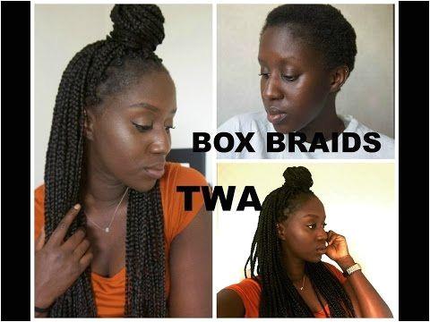 Big Box Braids Braids For Short Hair Twa Hairstyles Braided Hairstyles