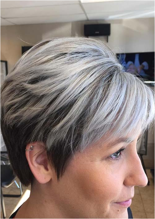 Haircuts & Hairstyles for Women Over 50 Short Grey Hair