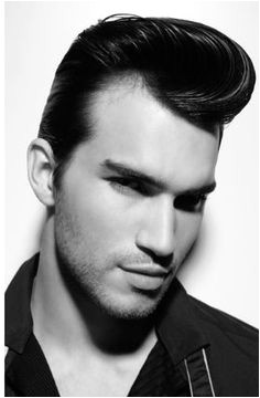 rockabilly guy on Tumblr 1950s Mens HairstylesMens