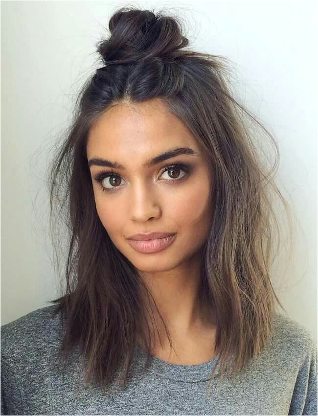 Hairstyles for Hair Down to Shoulders 18 Hairstyles for Short or Medium Length Hair Preeety