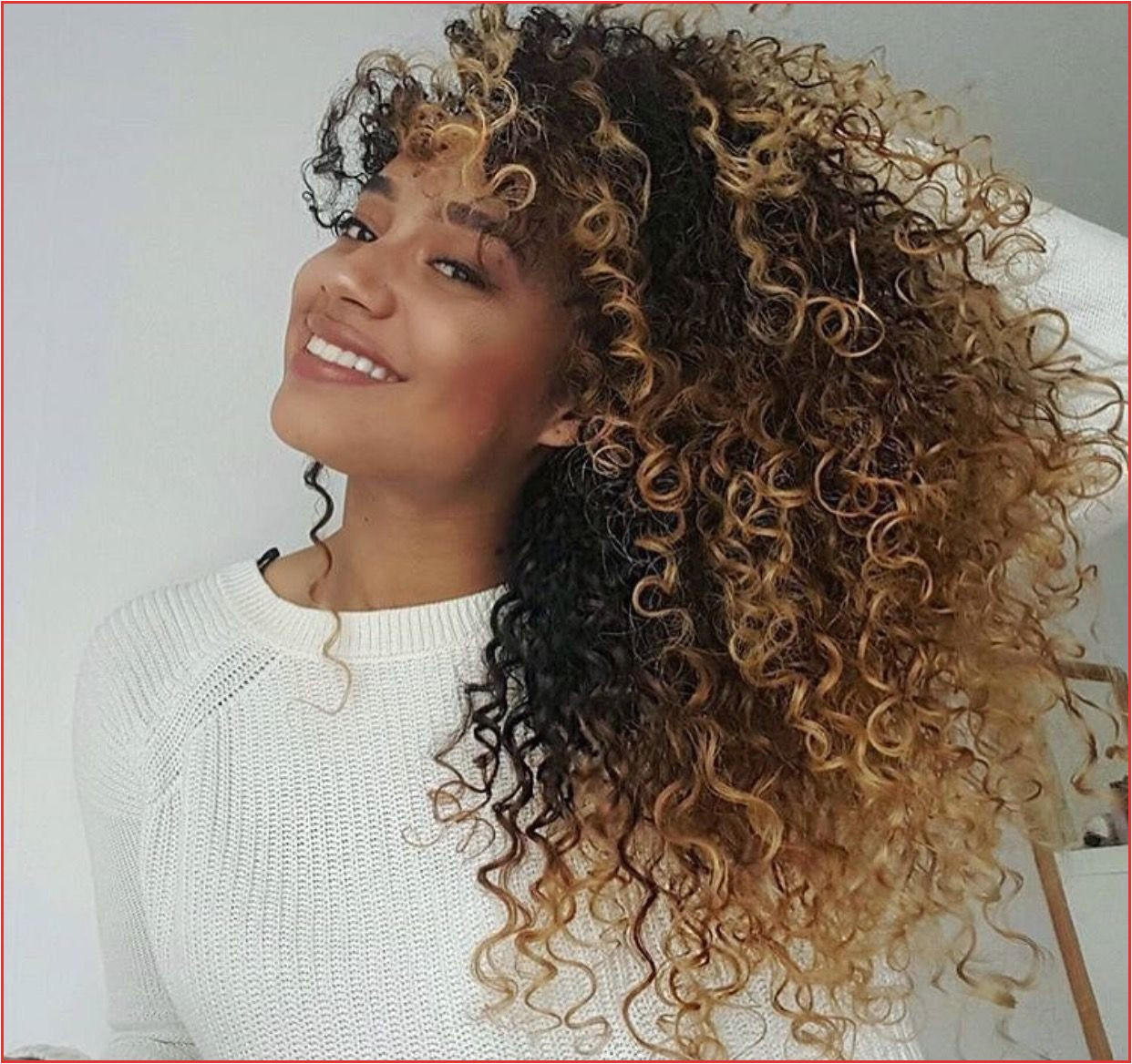 Curly Hair Dyed Curly Hair Goals Black Hairstyles Pinterest Curly Hair Dyed Hairstyle