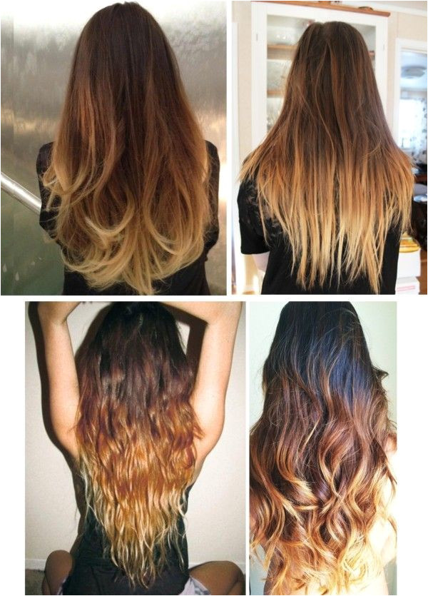 Hairstyles for Long Dip Dyed Hair 50 Trendy Ombre Hair Styles Ombre Hair Color Ideas for Women