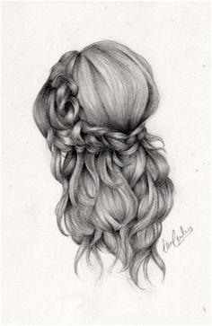 Hairstyle Cute DrawingsColorful DrawingsPencil DrawingsHair