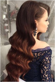 23 Most Stylish Home ing Hairstyles Prom Hair Down Hair Down Prom Styles Curly Hair