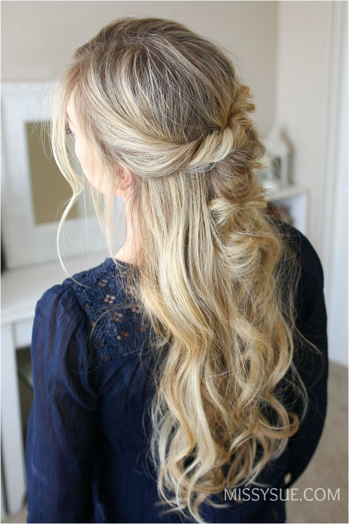 This easy style takes no more than 5 minutes It s so simple to create a couple of twists a few elastic bands and you re set I love wearing my hair down