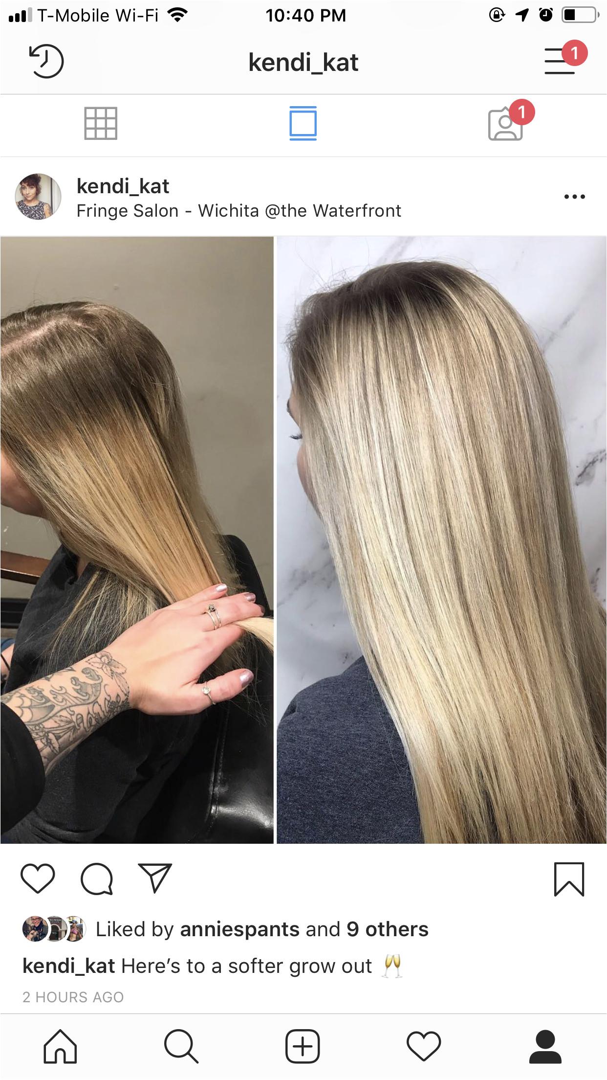 Balayage soft blonde low light natural blonde hair by Kendi Ripperger