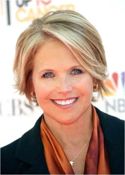 Cropped Haircut Television broadcaster Katie Couric keeps her look on point with a short cropped cut She adds a soft touch by sprinkling in subtle blond