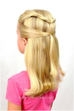 Quick & Easy Back to School Hairstyle