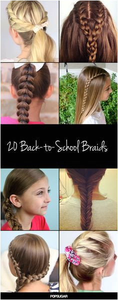 20 Braids to Inspire a New Back to School Do Hairstyles For School
