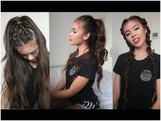 3 Hairstyles for School