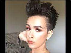 Faux Hawk Hair Tutorial