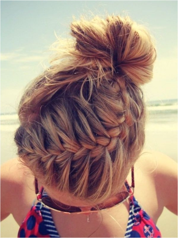 Hairstyles for School Camp 40 Useful Casual Hair Updos for Hair Pinterest