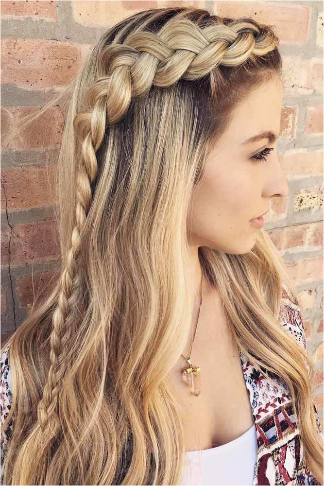 56 Unique Cool Hairstyles for Girls with Long Hair for School s