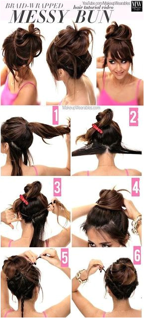 18 Messy Bun Hacks Tips & Tricks that ll Seriously Change All Lazy Girls Lives