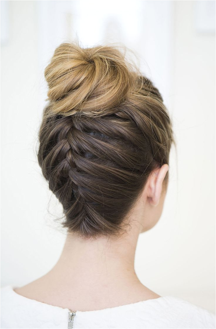 Braided Up Do Bun Braided Bridal Hairstyles 2 Buns Hairstyle Messy Wedding Hairstyles