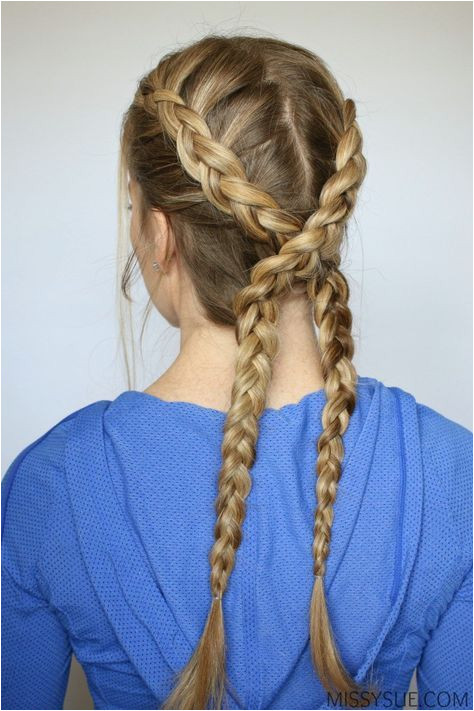 3 Sporty Hairstyles School hairstyles