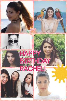 Happy Birthday Rachel Levin aka Rclbeauty101 on I love your channel Your editing