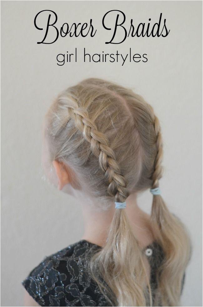 Easy Back to School Hair Braid Tutorials