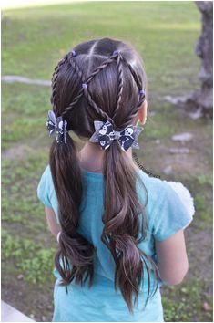 Easy hairstyles for little girls Perfect for quick school hairstyles