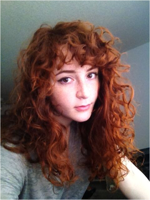 Curls with fringe bangs Love this cut but wonder if it would work for me