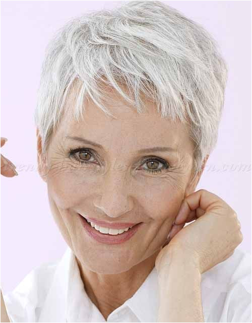 Mussy Silver Pixie Cut for Thin Hair 15 Short Hairstyles & Haircuts For Fine Hair