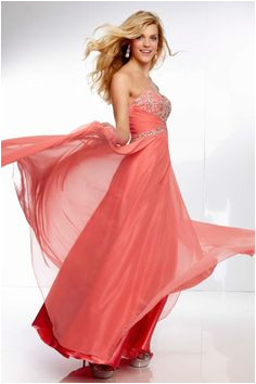 2014 Sweetheart Beaded Bust And Waistline With Long Chiffon Skirt Lace Up Prom Dress 2014