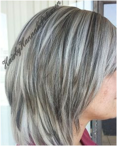 "Hannah Peterson on Instagram ""Did this very beautiful color today White blonde with dark lowlights with a very cute cut"