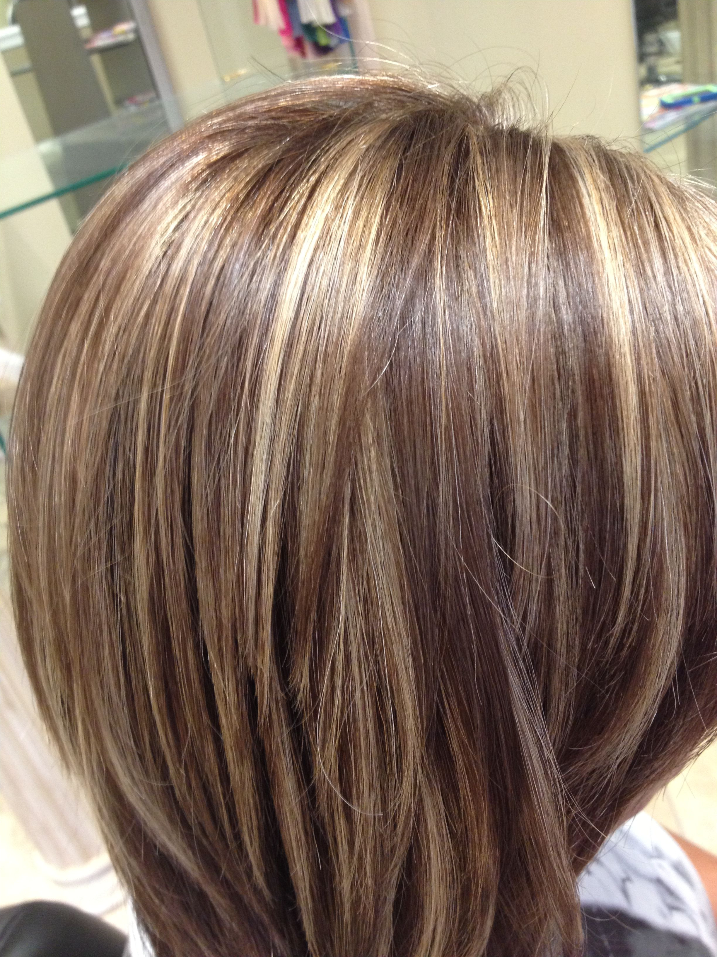 Highlights and an all over color Blended perfectly Salon Pure Dallas GA