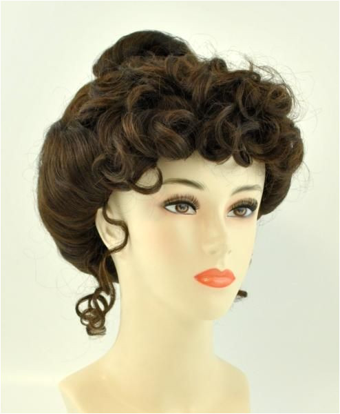 Gibson Girl Wig Stage Costume Wigs SHOP COSTUME ACCESSORIES Costumes Wigs Theater Makeup and Accessories 35