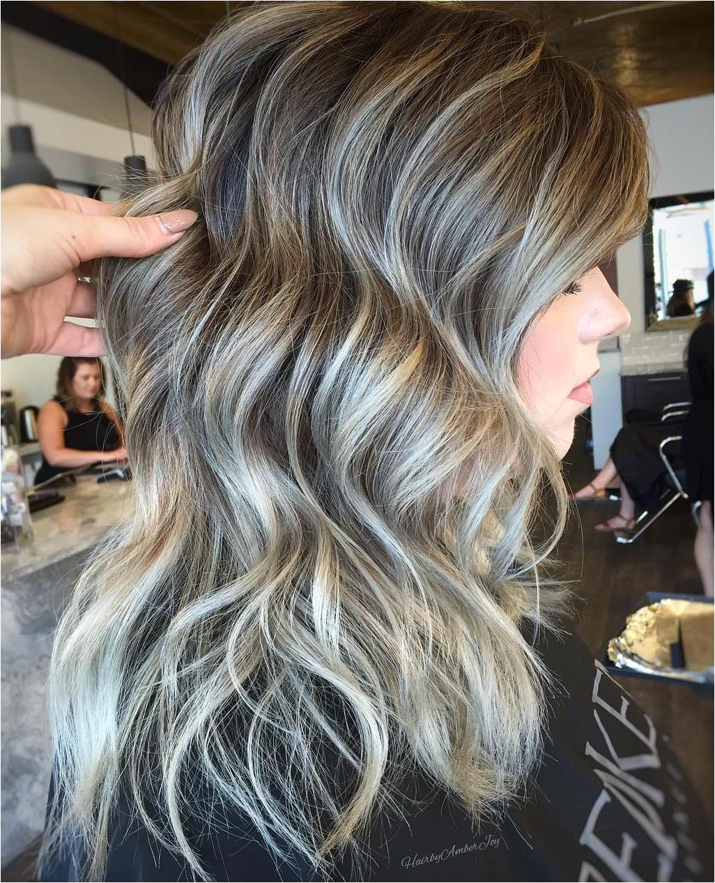 Hairstyles Grey Highlights 45 Shades Of Grey Silver and White Highlights for Eternal Youth