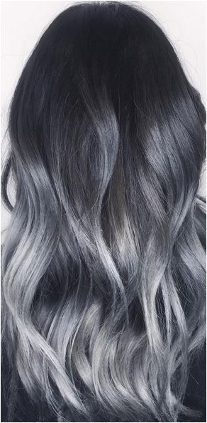 Brown Grey Hair Color Best Amazing Silver Balayage Ombre Highlights