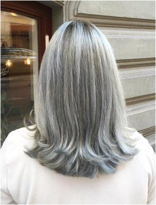 Icy Silver Hair Transformation Is 2017 s Coolest Trend