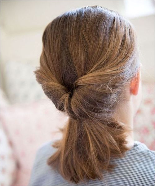Elegant Inverted Pony Hairstyles 2018 for Professional Women