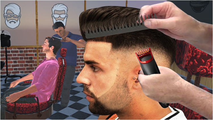 Barber Shop Hair Cut Games 3D