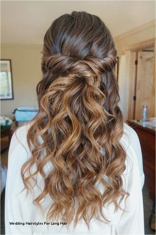 Half Up Half Down Hair Styles Elegant Wedding Hairstyles for Long Hair Pin by Ie Od