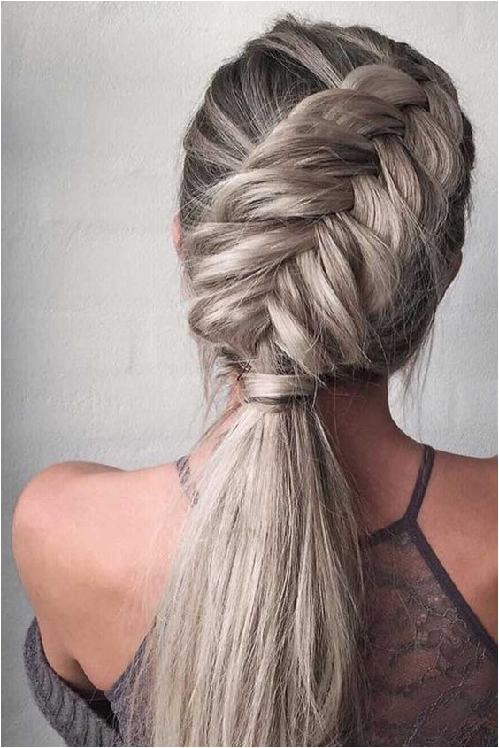 10 Easy Stylish Braided Hairstyles for Long Hair Braided creative Easy Hair Hairstyle Hairstyles Ideas inspired Long Stylish