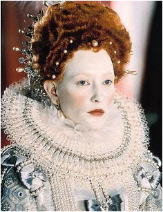 Cate Blanchett as Elizabeth I Elizabethan Costume Renaissance Costume Elizabethan Era Elizabethan Fashion