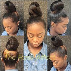 Ponytail Bun Ponytail Styles Ponytail Hairstyles Updos Bun Styles Short Hair